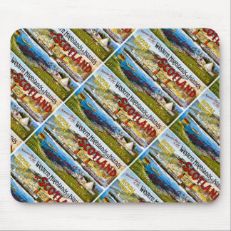 Royal Mail Steamers Scotland Glasgow Vintage Mouse Pad