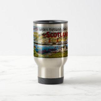 Royal Mail Steamers Scotland Glasgow Vintage Travel Mug
