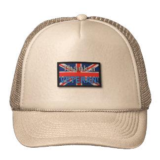 Royal marines army veterans vets iraq Hat cap