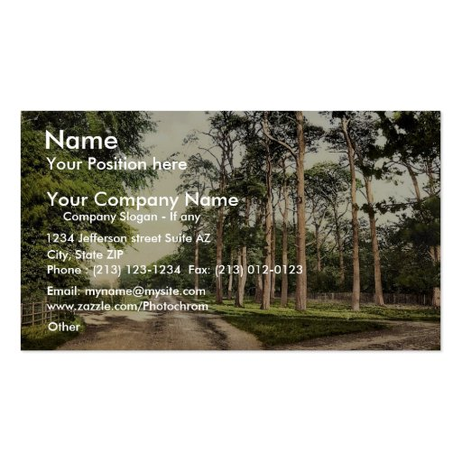 Royal Military College, a favorite drive, Sandhurs Business Card