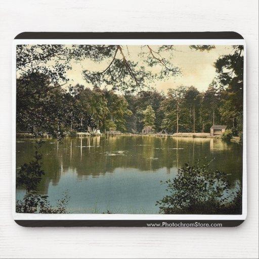 Royal Military College, bathing lake, Sandhurst, C Mouse Pad