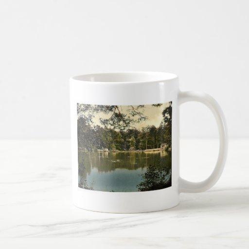 Royal Military College, bathing lake, Sandhurst, C Coffee Mugs