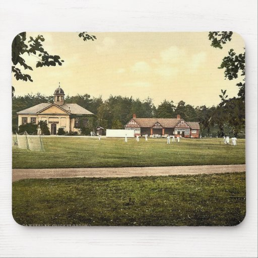 Royal Military College, cricket grounds, Sandhurst Mouse Pad