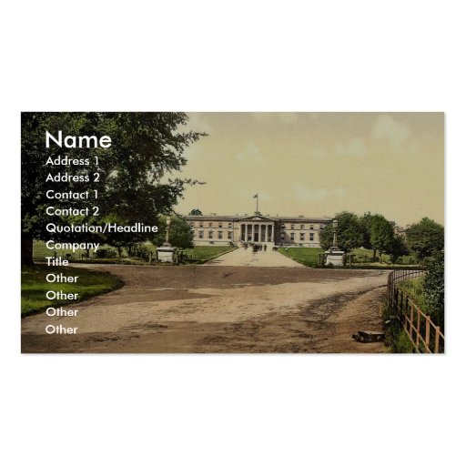 Royal Military College, Sandhurst, Camberley, Engl Business Card Templates