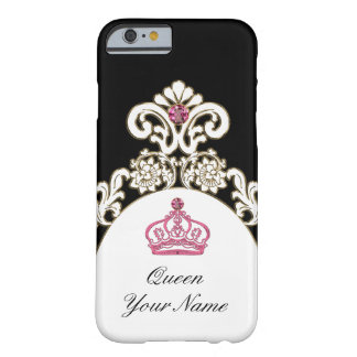 Royal Monogram Monarchy Crown Barely There iPhone 6 Case