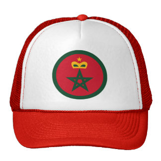 Royal Moroccan Air Force Roundel Trucker Hat