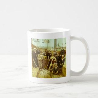 Royal Naval Exhibition 1891 Magic Lantern Slide Coffee Mug