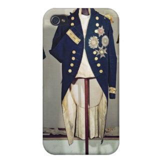 Royal Naval uniform worn iPhone 4 Covers