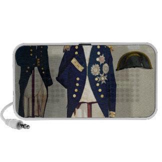 Royal Naval uniform worn iPhone Speakers