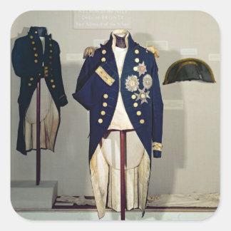 Royal Naval uniform worn Stickers