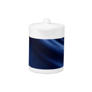 Royal navy blue velvet silk textile elegant chic