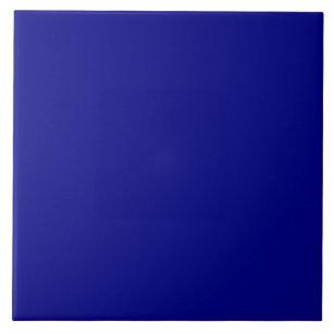 Royal Navy Dark Blue Solid Trend Color Background Tile