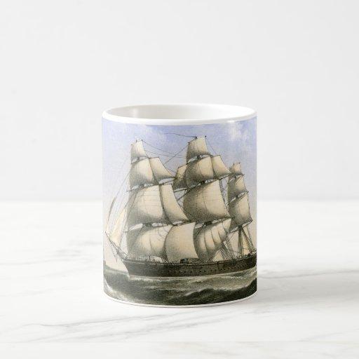 Royal Navy Warship HMS Volage Classic White Coffee Mug