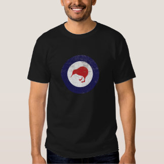 Royal New Zealand Rustic Air Force Roundel T Shirts
