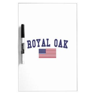 Royal Oak US Flag Dry Erase Board