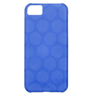 ROYAL OCEAN BLUE HONEYCOMB PATTERN TEMPLATE DIGIT iPhone 5C CASES