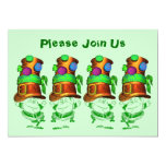 Royal Order of Leprechauns St. Patrick's Day Party Custom Announcements