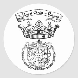 Royal Order of Rogues crest sticker