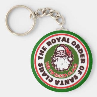Royal Order of Santa Claus Keychain