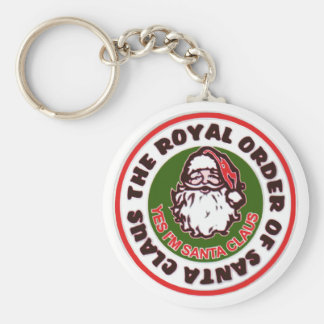 Royal Order of Santa Claus Keychain