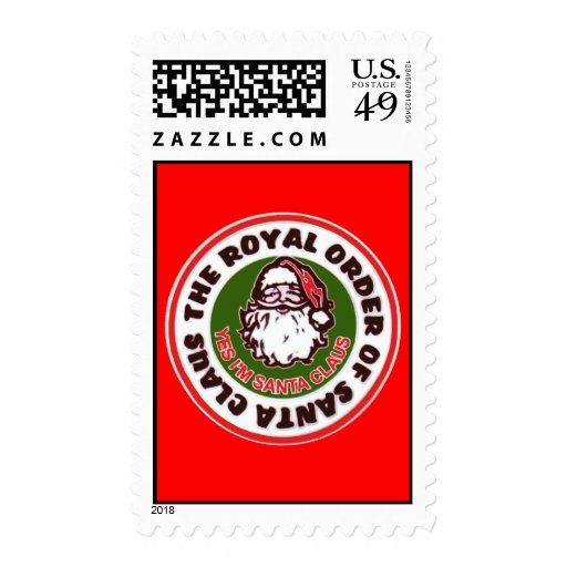 Royal Order Of Santa Claus Stamp
