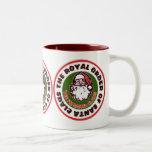 Royal Order of Santa Claus Two-Tone Coffee Mug