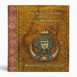 Royal Order of the Holy Mackerel Member's Journal Binder
