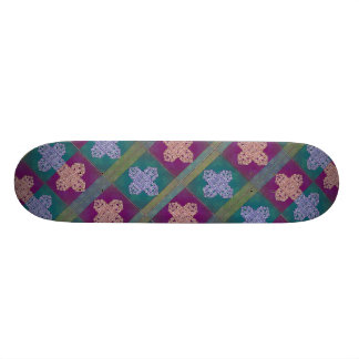 Royal Ornament Background Pattern Skateboard Deck