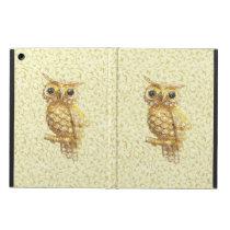 Royal owl golden baroque cover for iPad air