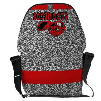 Royal Pain-CapoHeads Large Messenger Bag