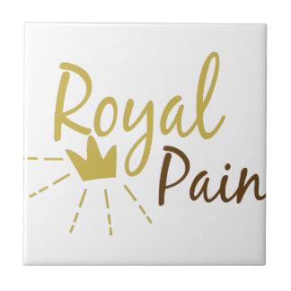 Royal Pain Small Square Tile