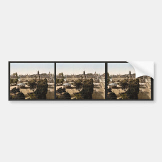 Royal Palace and hotel de ville, Caen, France clas Bumper Stickers