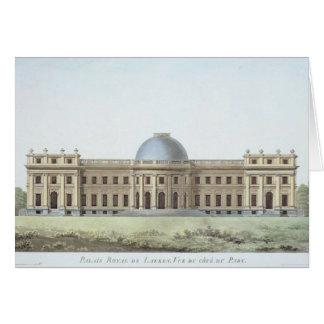 Royal Palace at Laeken, View from the Park, from ' Greeting Card