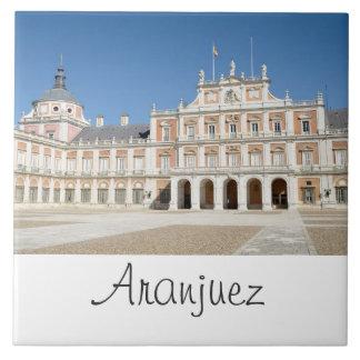 Royal Palace de Aranjuez Azulejo Cuadrado Grande