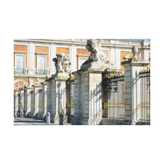 Royal Palace de Aranjuez Impresión En Lienzo
