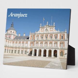 Royal Palace de Aranjuez Placa