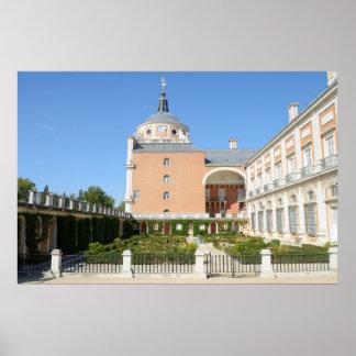 Royal Palace de Aranjuez Póster