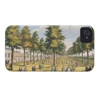 Royal Palace de San Jaime siguiente el parque (col iPhone 4 Case-Mate Cárcasa