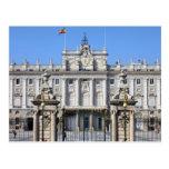 Royal Palace en Madrid Tarjeta Postal