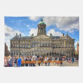 Royal Palace in Dam Square, Memories of Amsterdam Towels