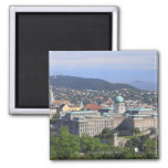 Royal Palace Of Buda 2 Inch Square Magnet