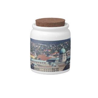 Royal Palace Of Buda Candy Jars