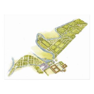 Royal Palace y jardines. Aranjuez España Postales