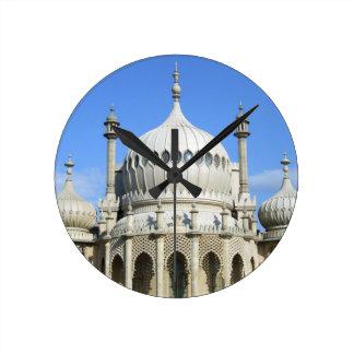Royal Pavilion, Brighton, Sussex, England Round Clock