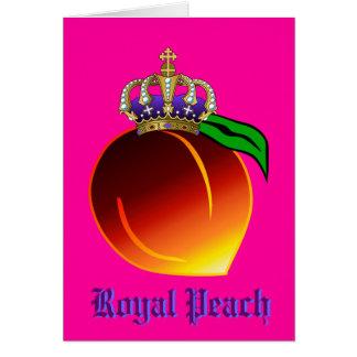 Royal Peach Drink Recipe Card