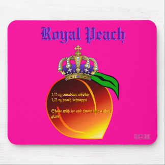 Royal Peach Drink Recipe Mouse Pad