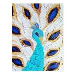 Royal Peacock (Kimberly Turnbull Art) Postcard