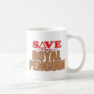 Royal Penguin Save Coffee Mug