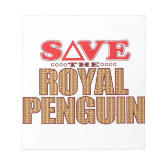 Royal Penguin Save Notepad