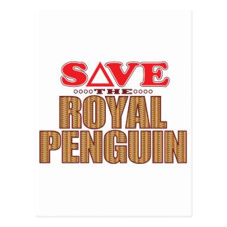 Royal Penguin Save Postcard